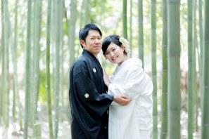嵐山での和装前撮り・京都