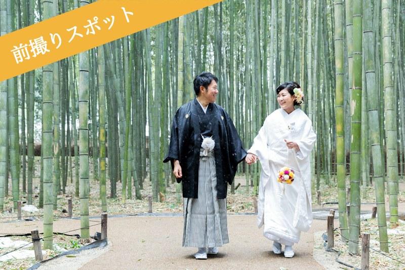 嵐山・嵯峨野の竹林で前撮り