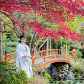 大原野神社で和装前撮り-02