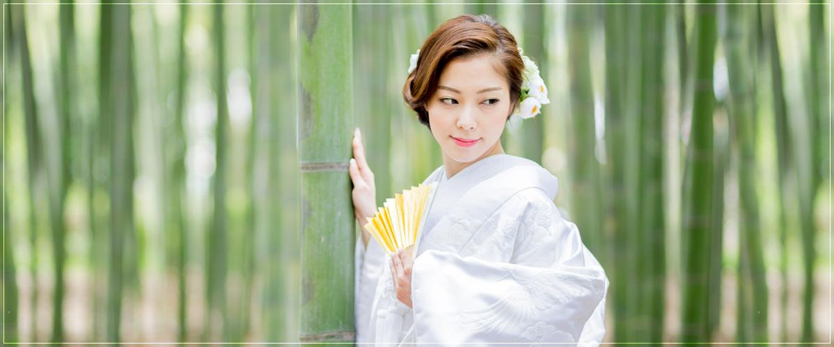 京都前撮り・竹林
