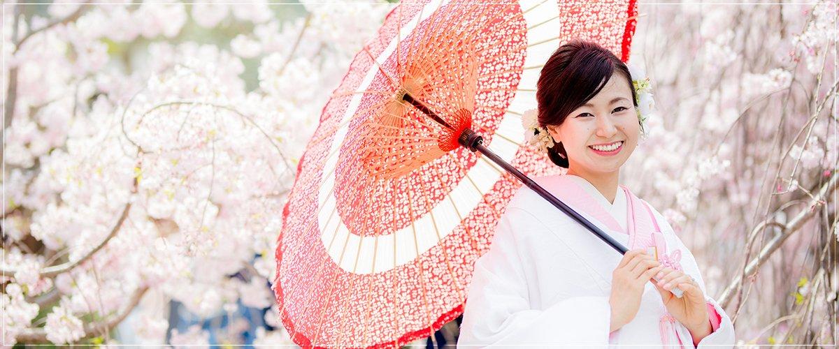 京都前撮り・春の桜シーズン
