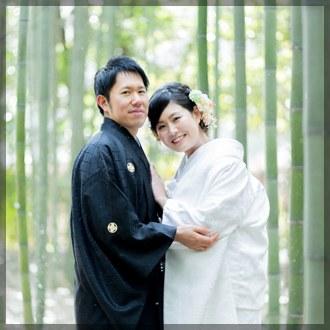 京都前撮り(嵐山の竹林)