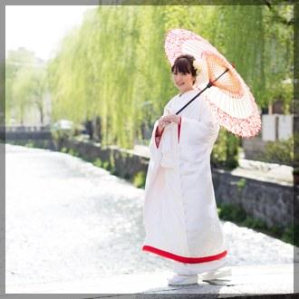 京都前撮り(白川の柳)