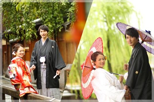 2ヶ所の京都のロケーションで撮影