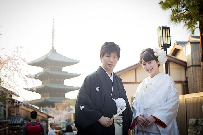 八坂の塔にて京都前撮り