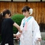 京都前撮りに使用する新作衣裳