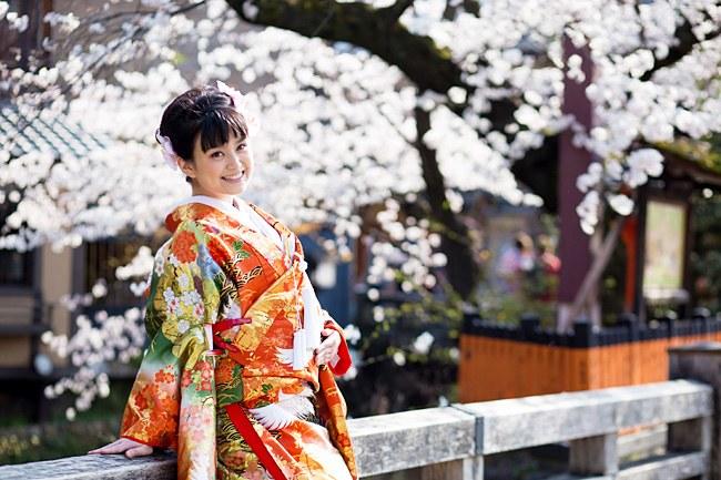 春の祇園での京都前撮り
