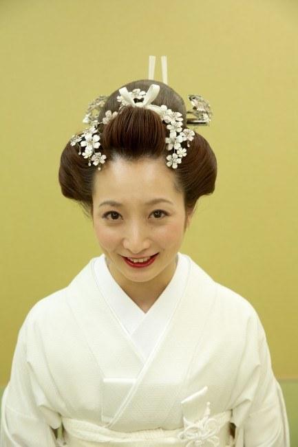 日本髪で前撮り