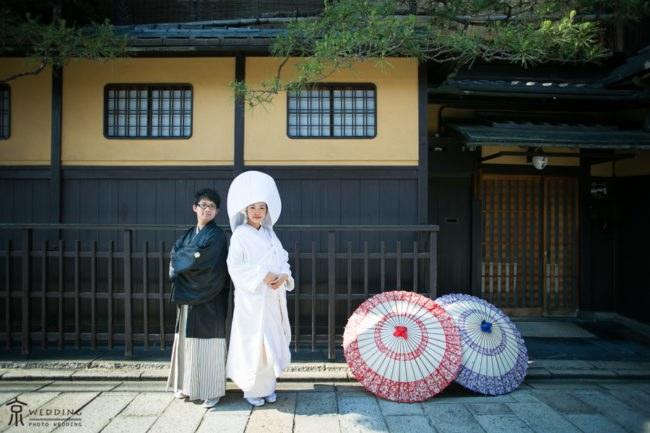 京都・祇園での和装前撮り