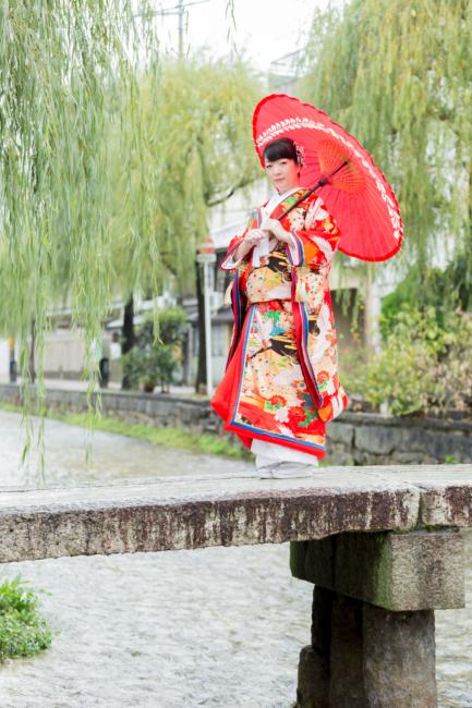 京都・白川での前撮り