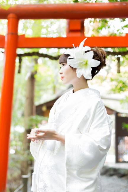 野宮神社での前撮り