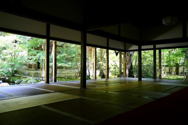 蓮華寺の書院