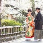 桜のシーズンの前撮り
