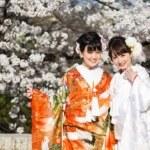 祇園での前撮り・桜