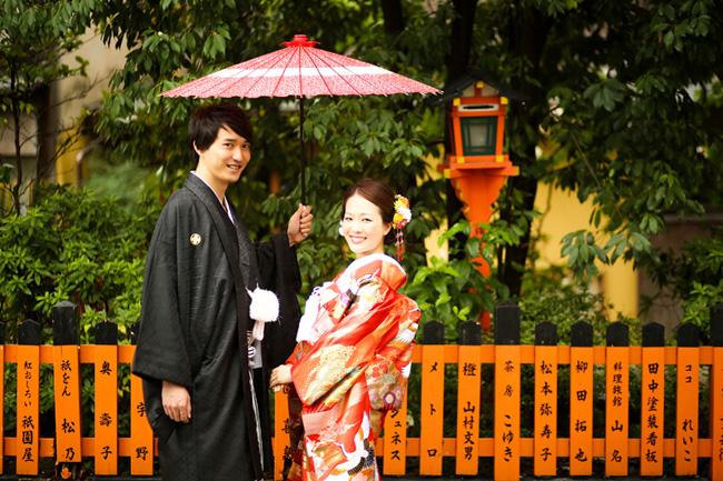 京都・祇園での前撮り