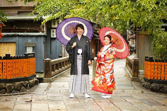 祇園で前撮り