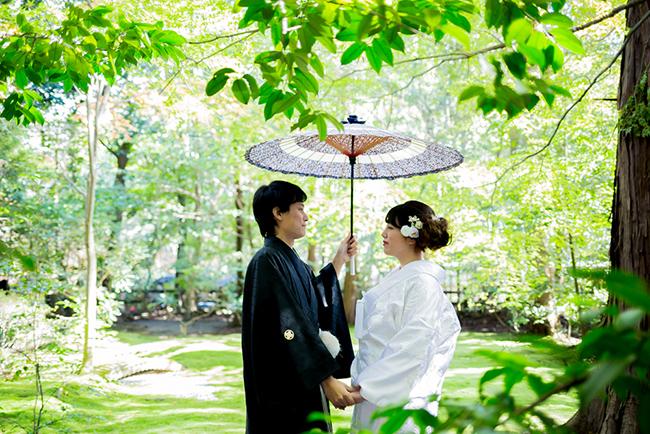 野宮神社で前撮り