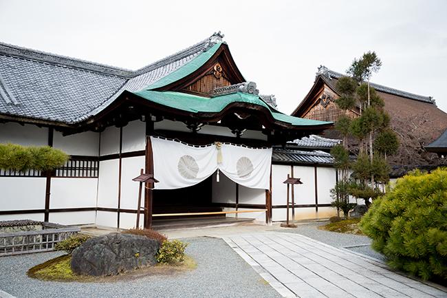 大覚寺式台玄関