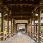 大覚寺村雨の廊下