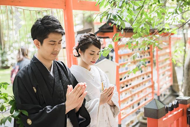 野宮神社でお祈り