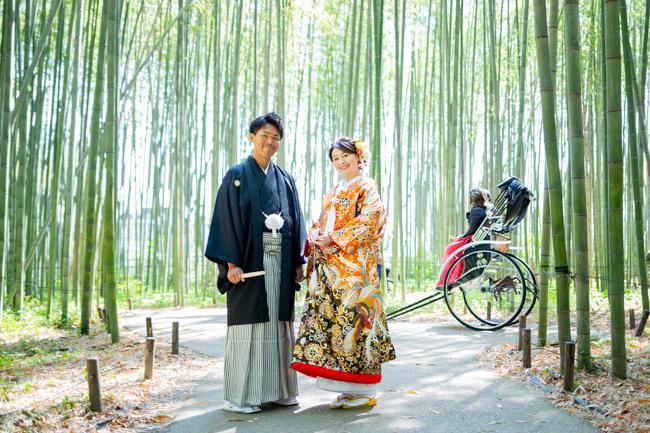 さわやか笑顔のお二人が京都で前撮りしてくれました!
