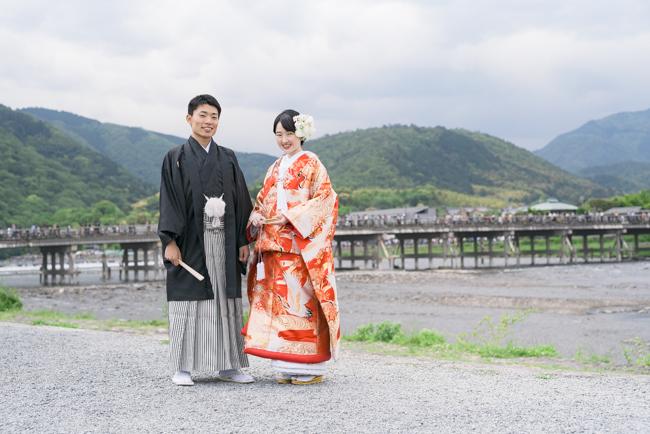 嵐山といえば渡月橋!
