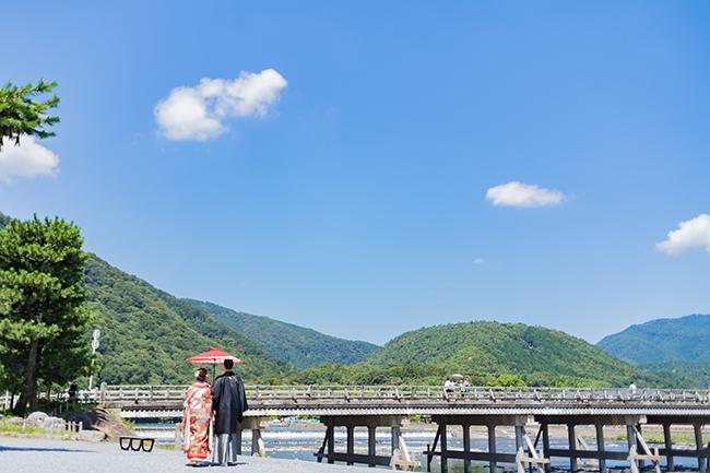夏の京都前撮りの美しさ!ここに極まる!!