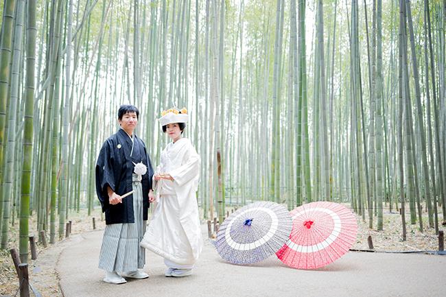 一番人気!京都前撮りは嵐山ロケ!!