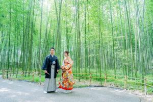 9月10月の和装前撮りも京都なら問題なし♪