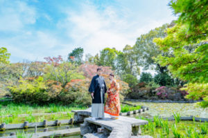 立派な日本庭園です!