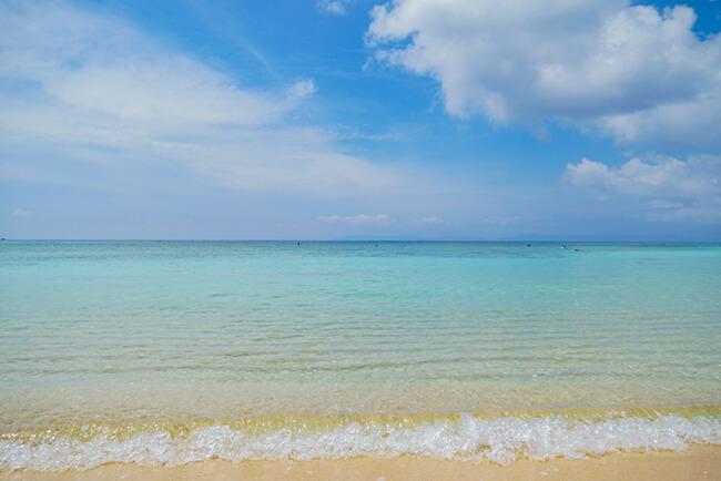 夏の波照間島